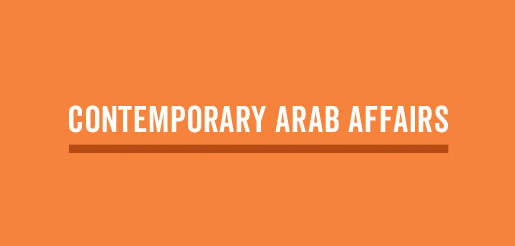 Contemporary Arab Affairs (New for 2018)