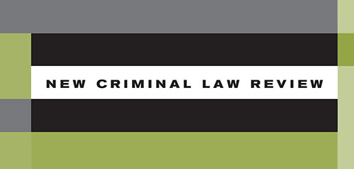 New Criminal Law Review