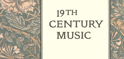 19th century music essay Music's capacity to expose the contradictions which emerged within late nineteenth-century understandings of the sublime is explored in relation to the aesthetics of decadence and of emergent modernism this paper explores the nature of the subjective aesthetic experience in which nineteenth.