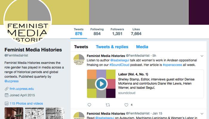 Social Media for Editors: A Case Study - University of